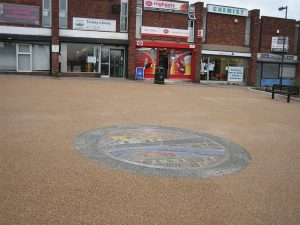 Commercial Resin Paving Tinsley