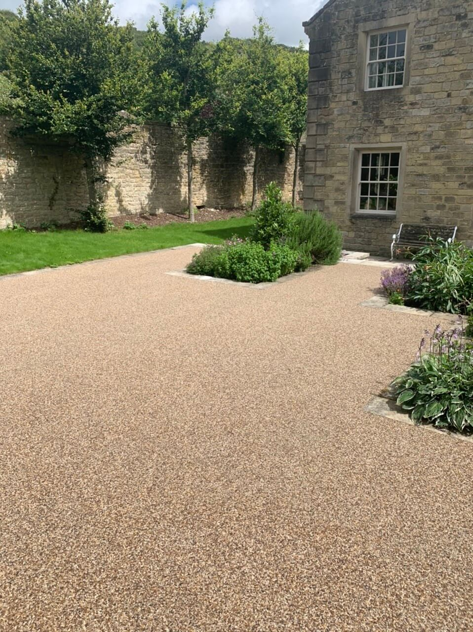 Resin Bound Stone patio in Sheffield
